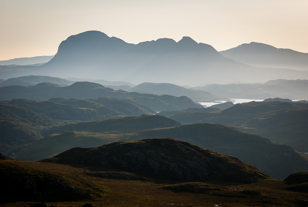 Suilven from Druim Bad a Ghaill