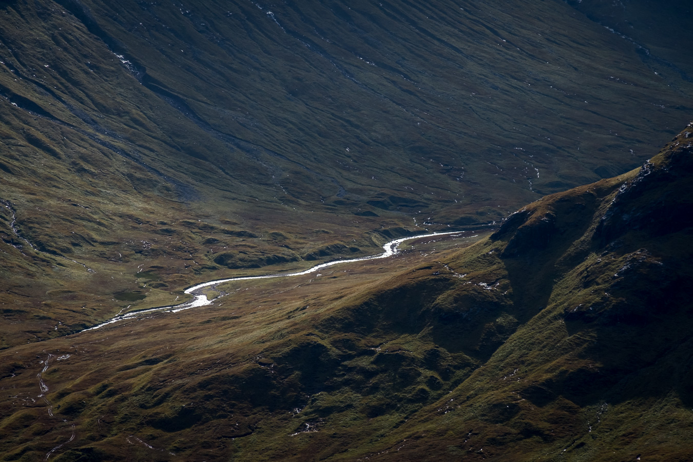 River Coupall and the Lairig Gartain