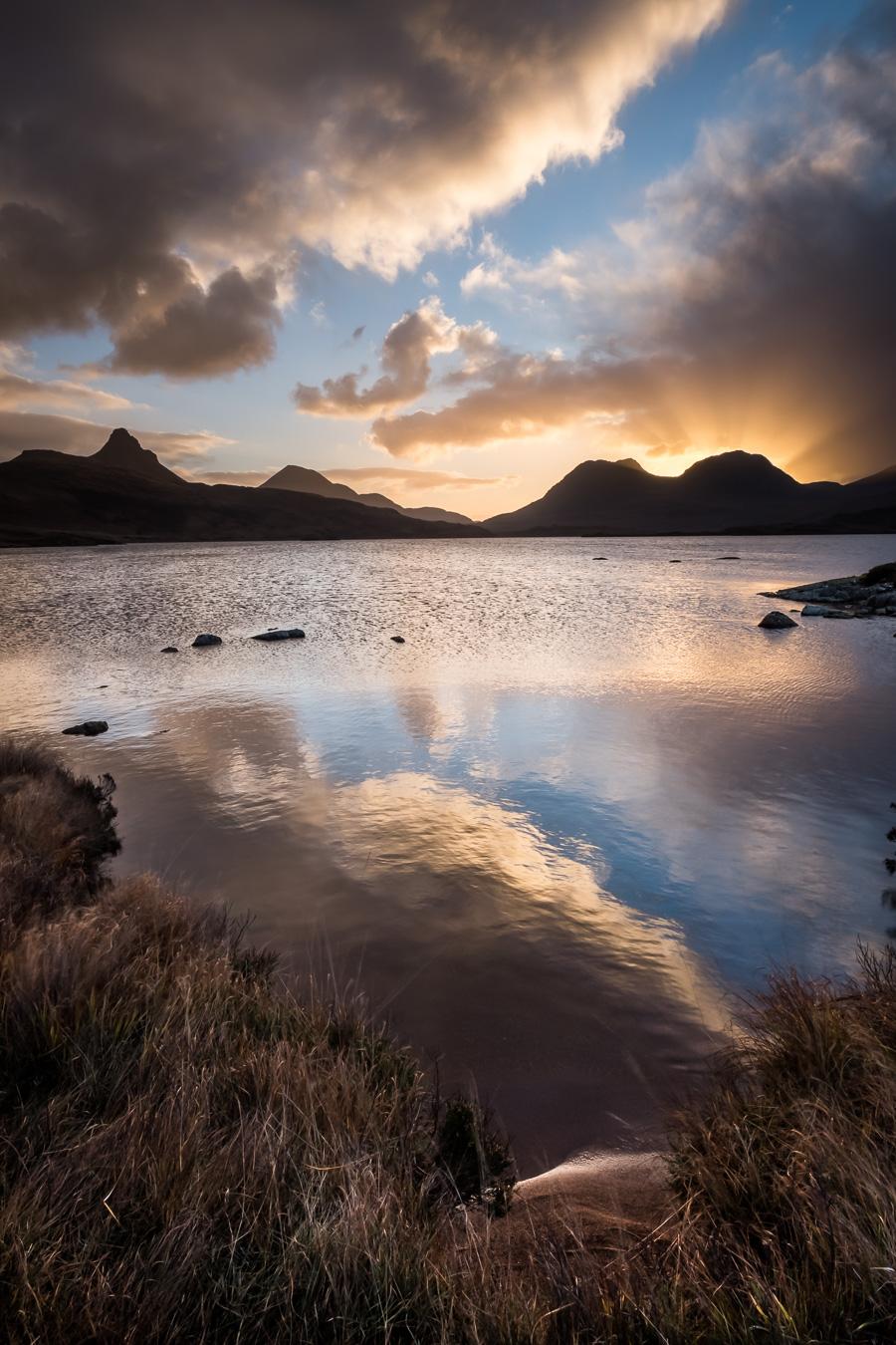 Loch Bad a Ghaill sunrise 2