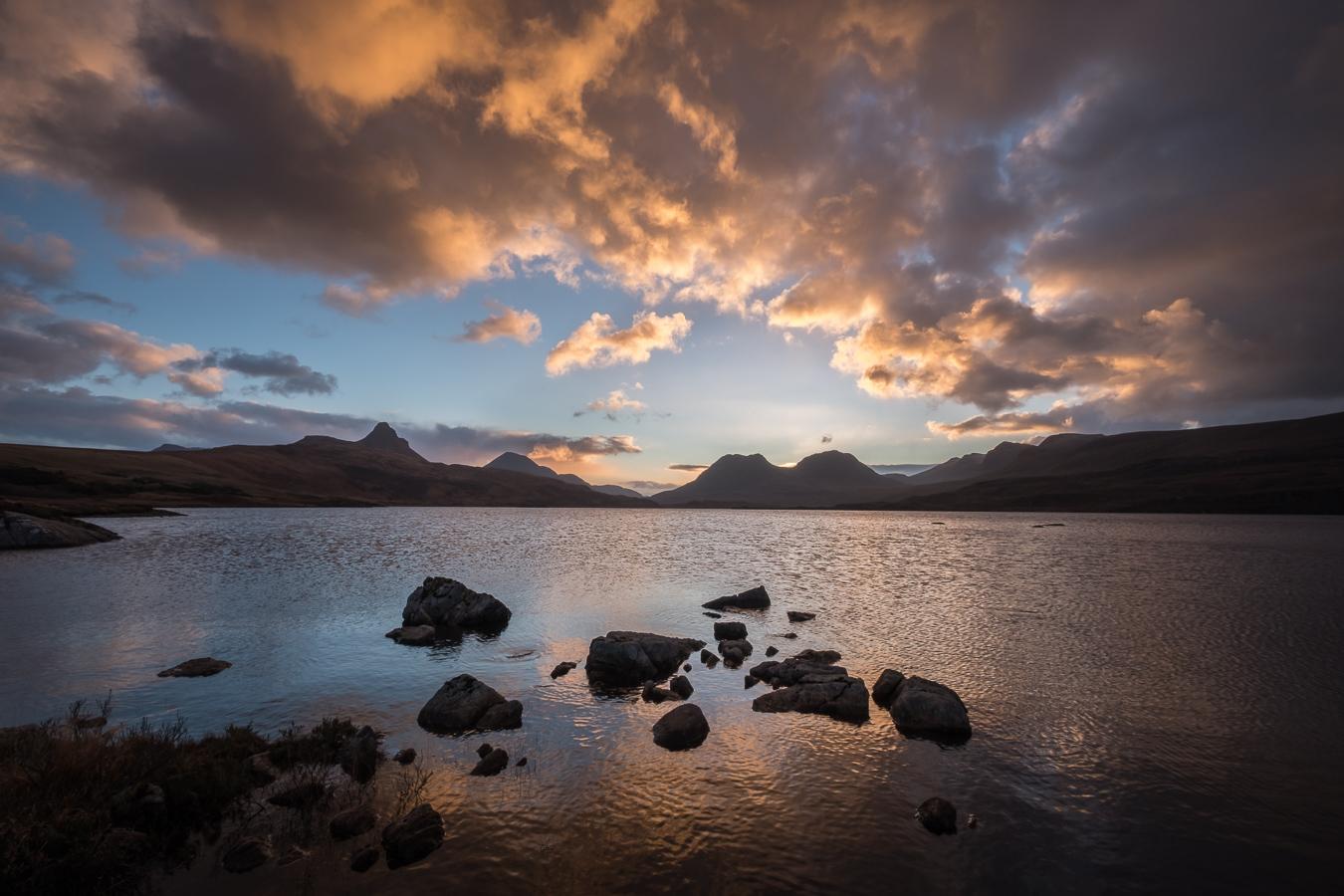 Loch Bad a Ghaill sunrise