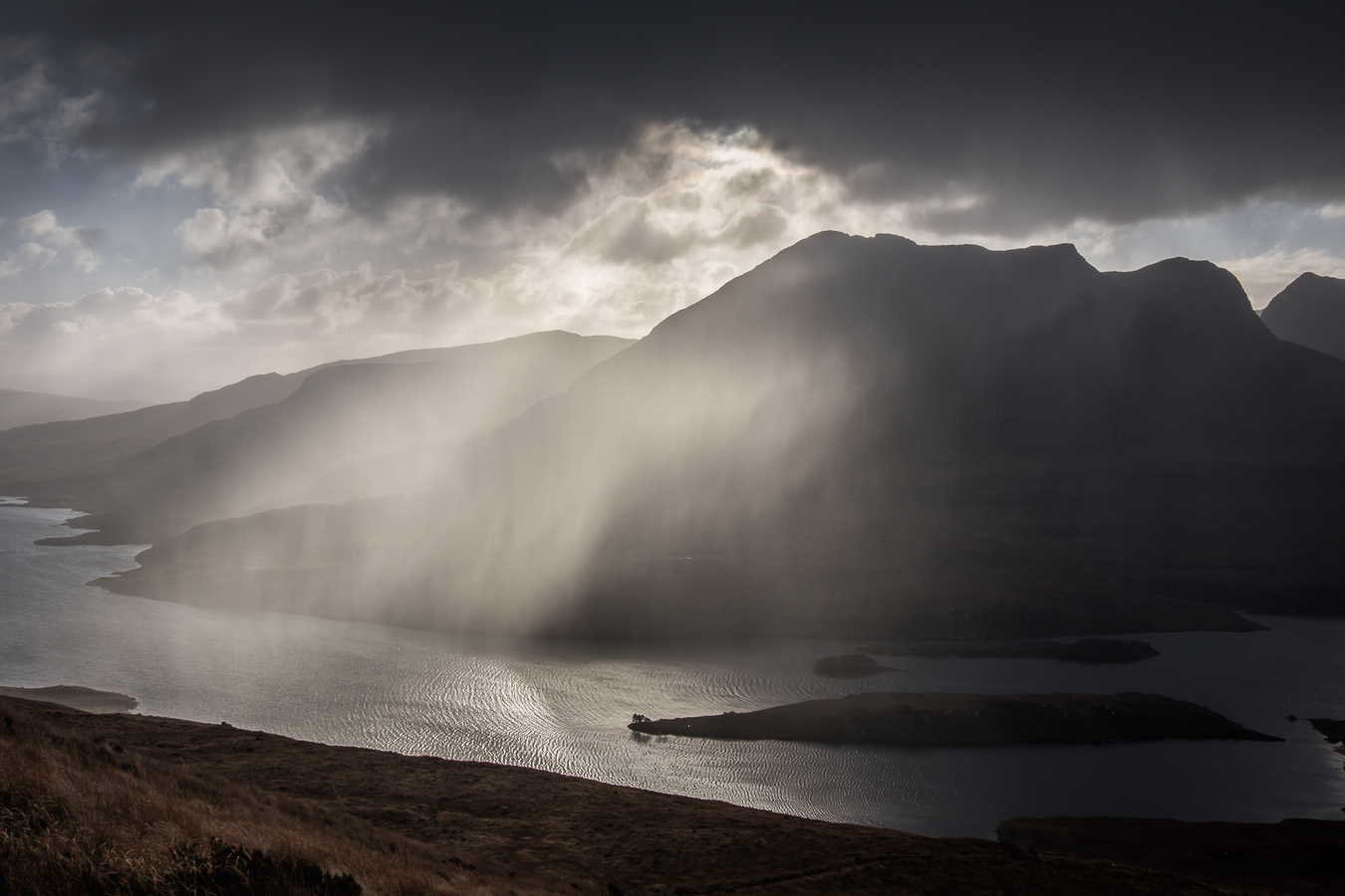 Shower over Sgorr Tuath