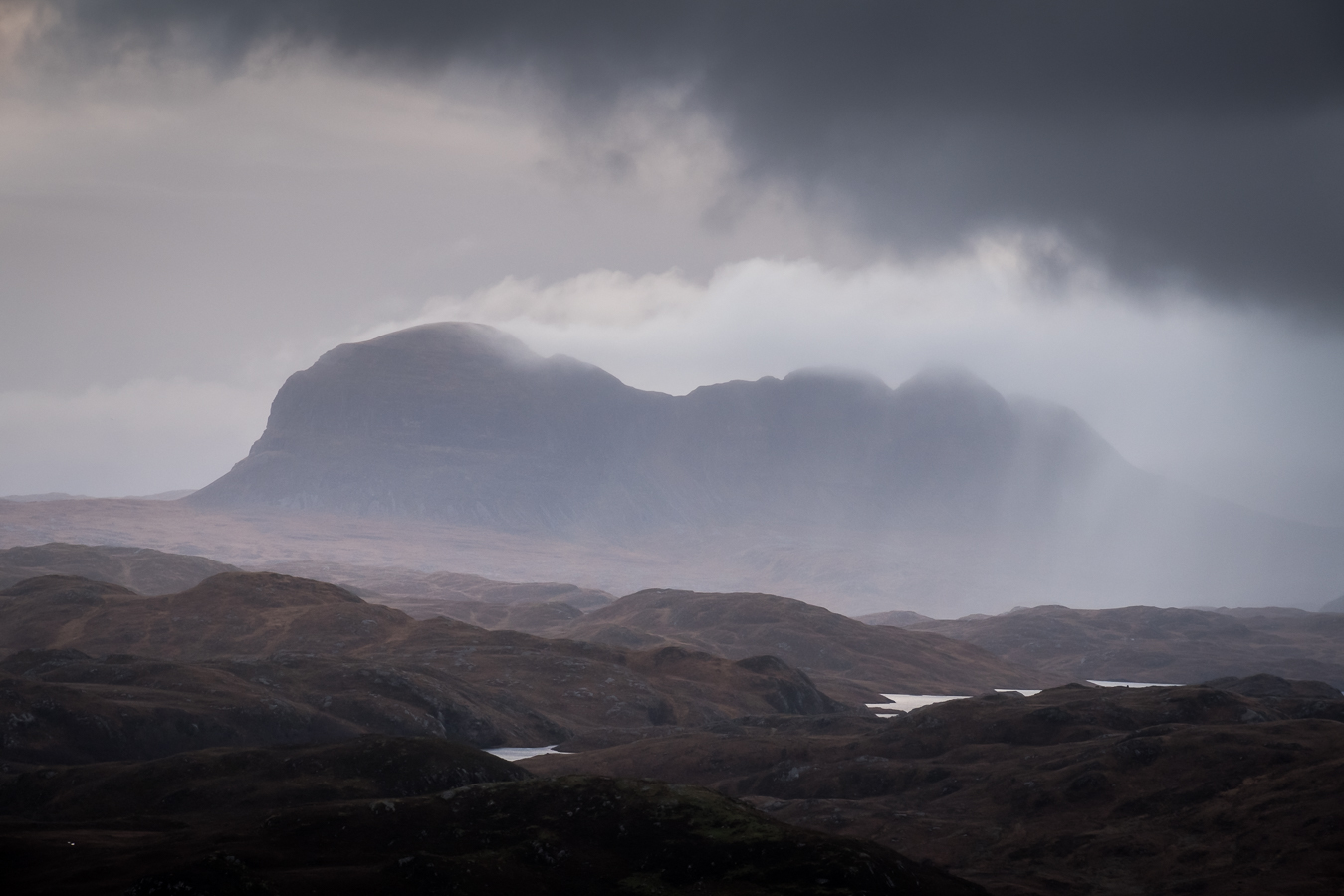 Stormy Suilven
