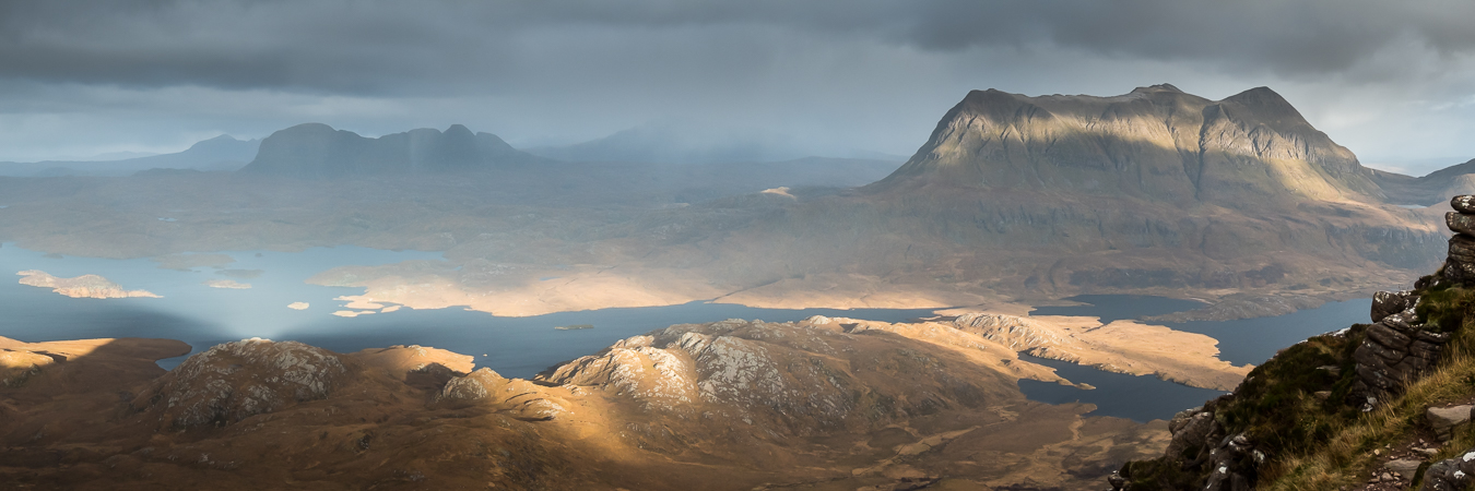 Suilven and Cul Mor from Stac Polly