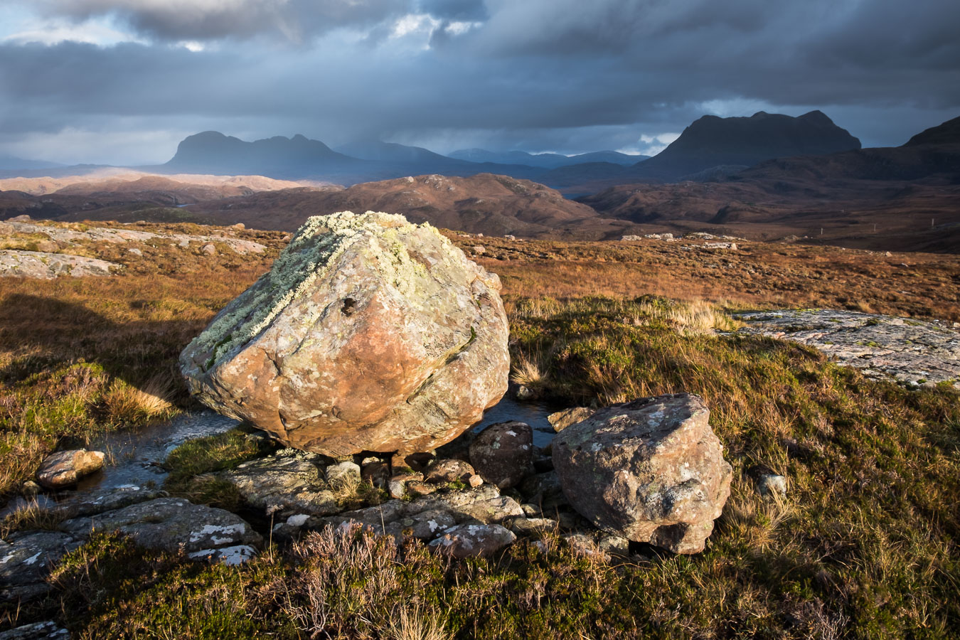 Suilven and Cul Mor