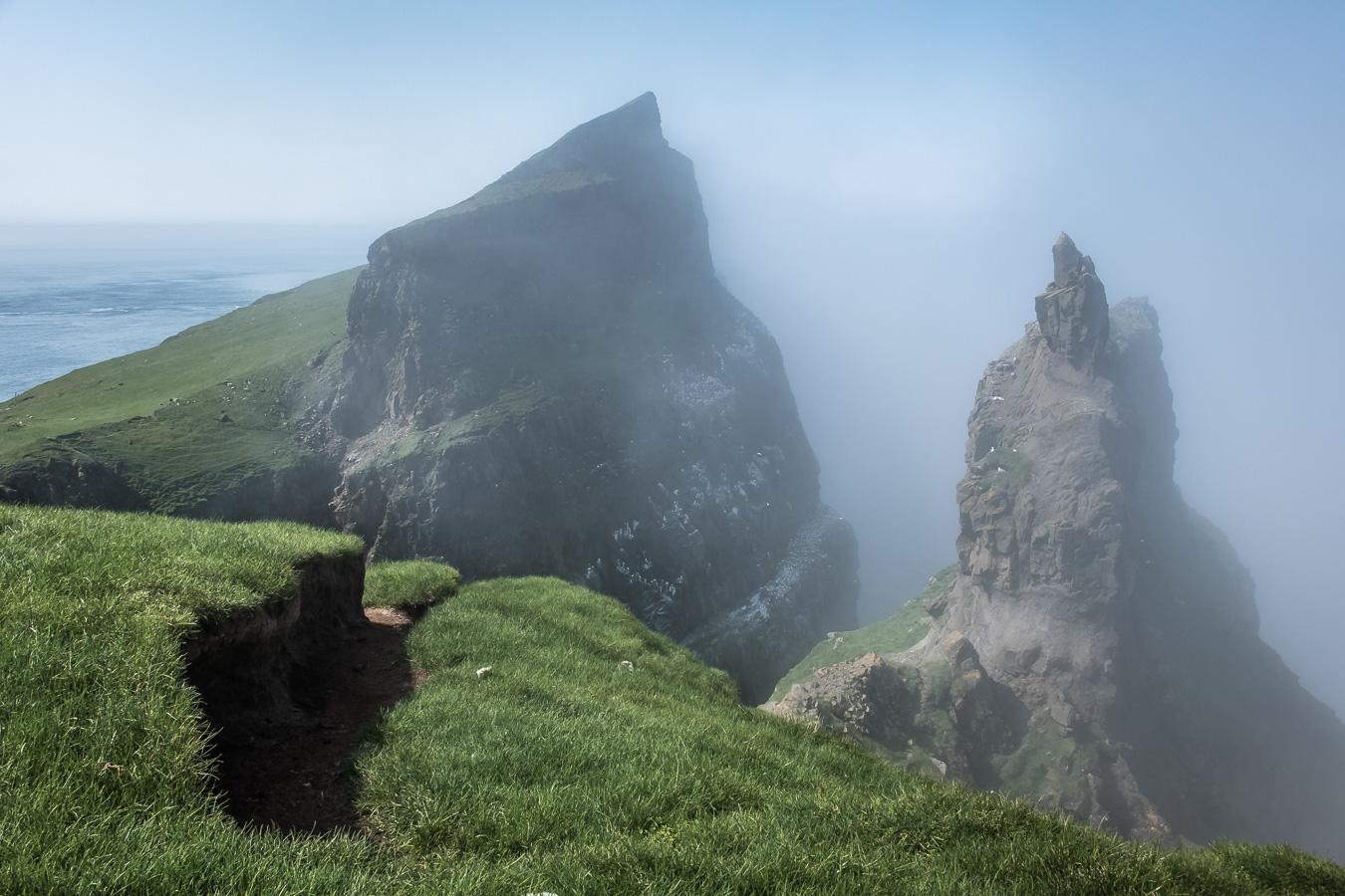 Mykines cliffs