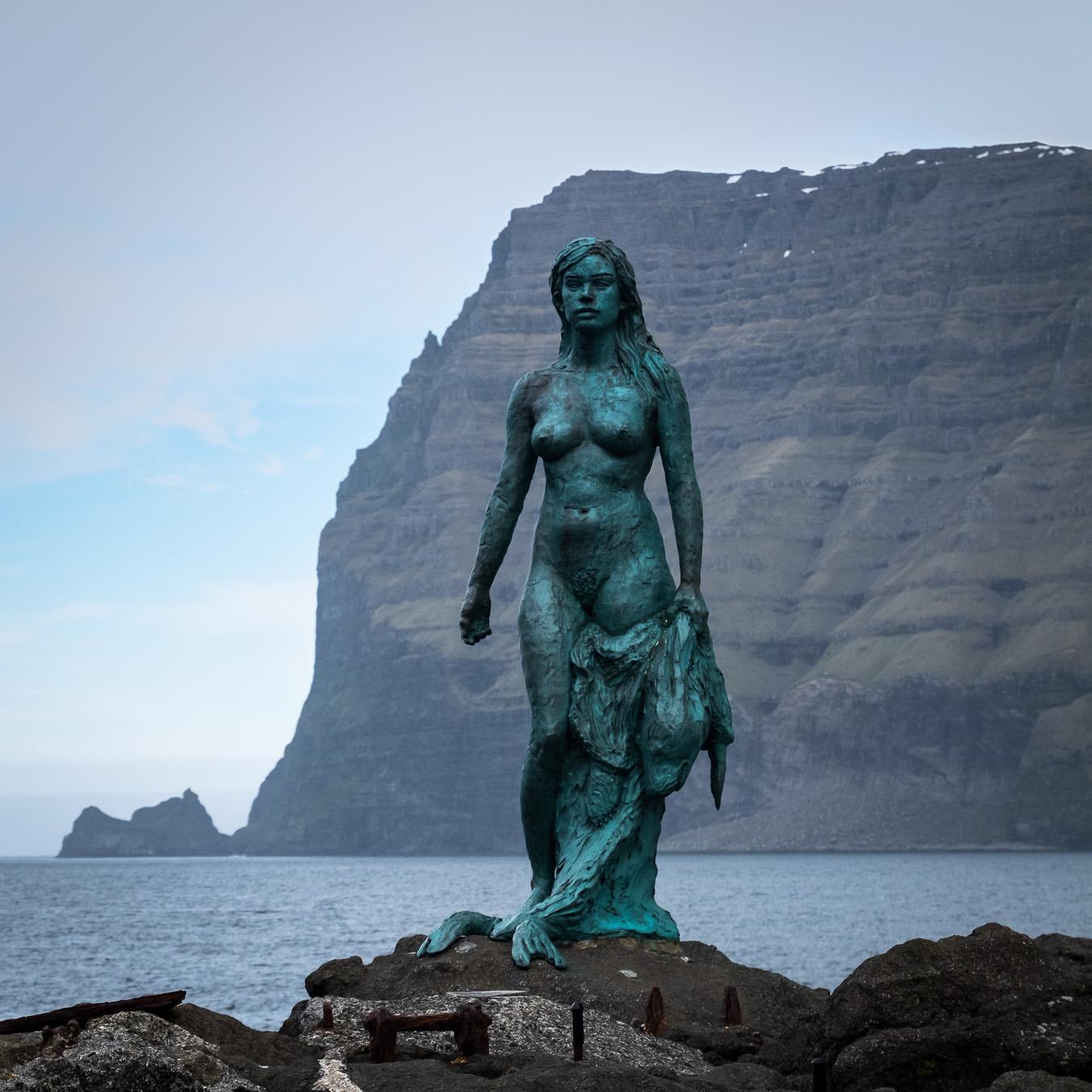 Selkie statue